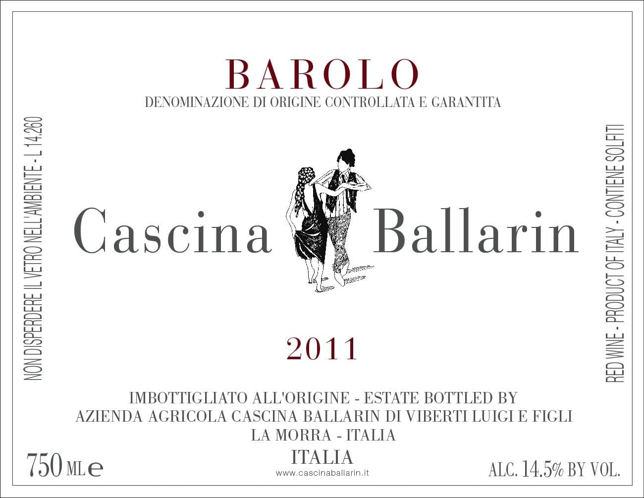 Ballarin Barolo 2016