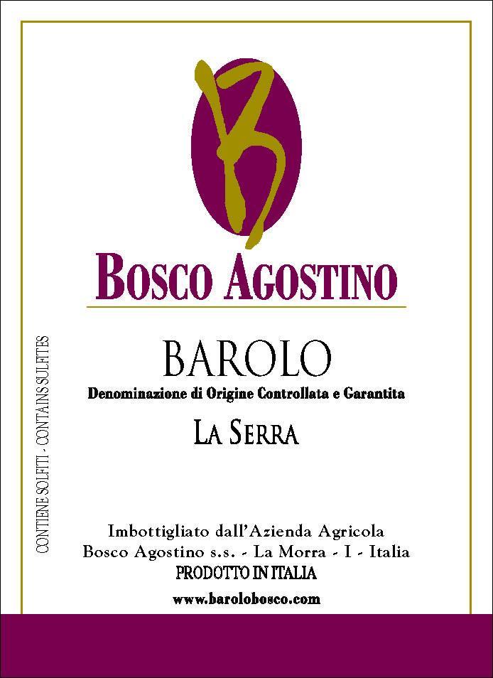 Bosco Agostino Barolo La Serra 2009
