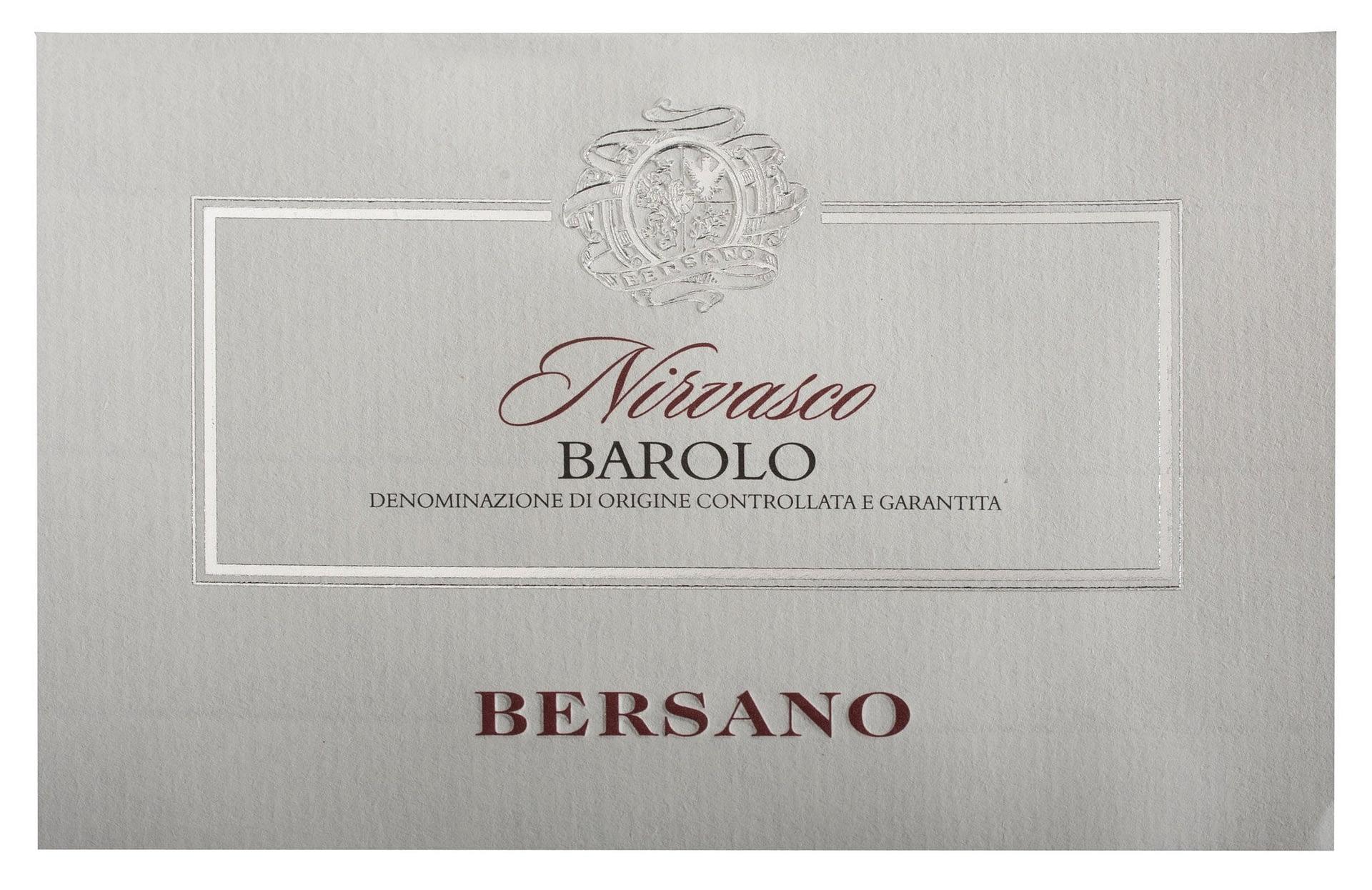 Bersano Barolo Nirvasco 2011
