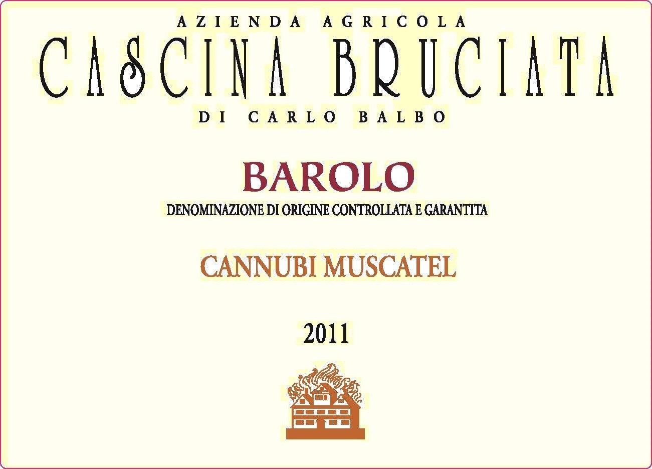 Bruciata Barolo Cannubi Muscatel Magnum 2009
