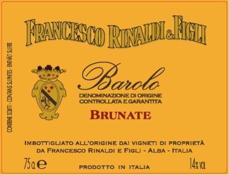Francesco Rinaldi Barolo Brunate Magnum 2011