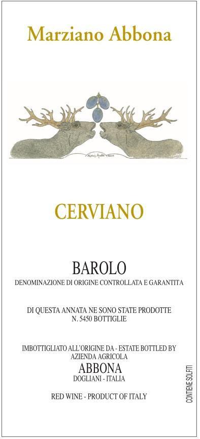 Marziano Abbona Barolo Cerviano 2010
