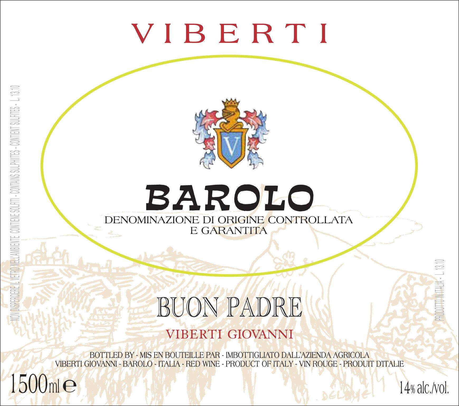 Viberti Barolo Buon Padre 5 litri 2010