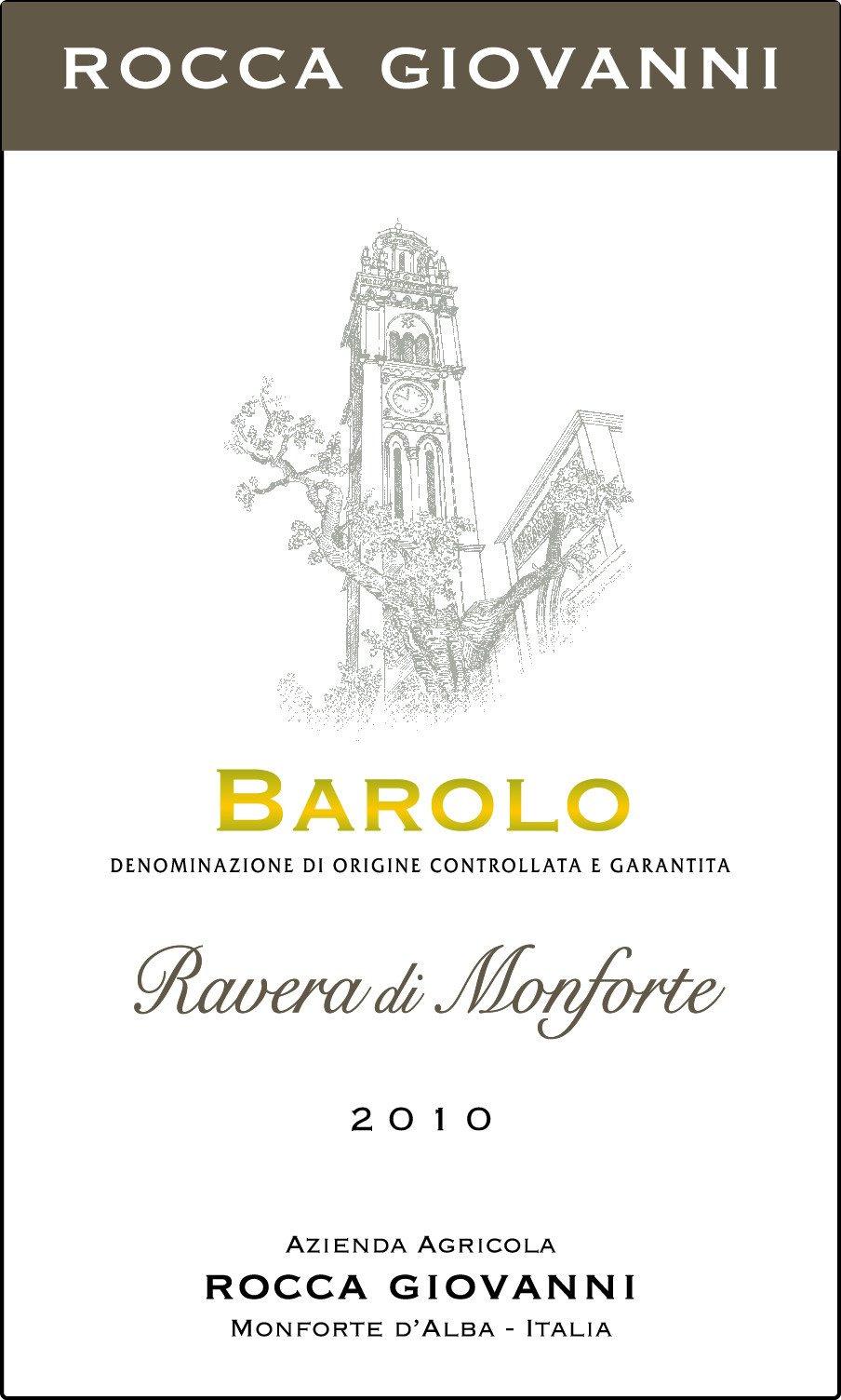 Rocca Giovanni Barolo Ravera di Monforte 2011
