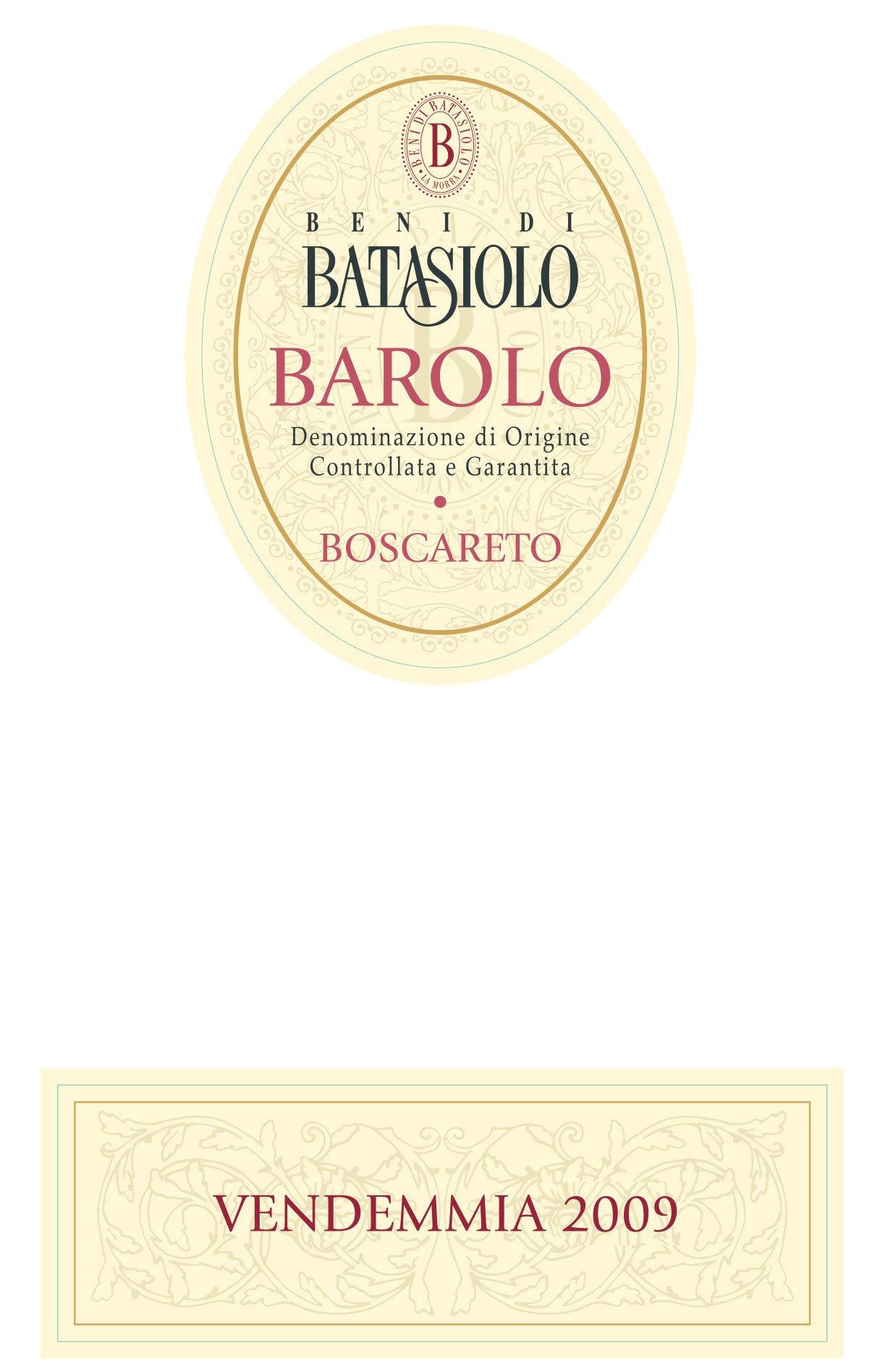 Batasiolo Barolo Boscareto 2009