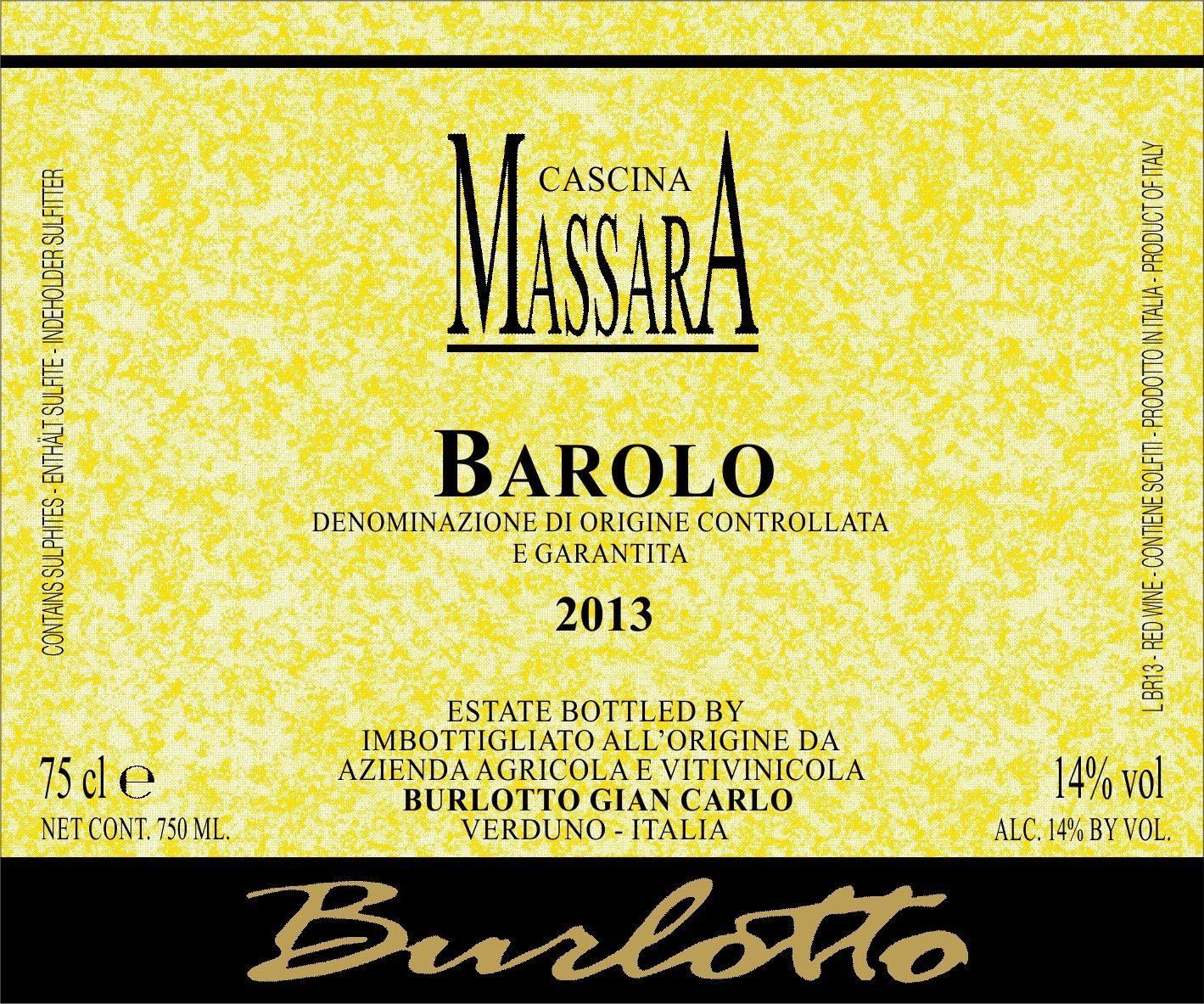 Burlotto Massara Barolo 2012