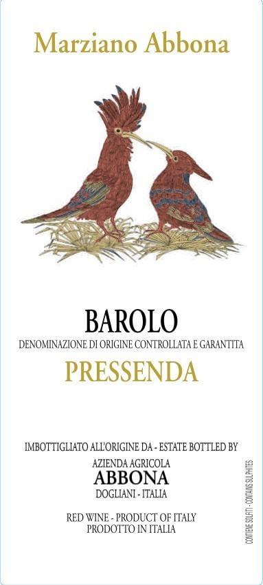 Marziano Abbona Barolo Pressenda 2011
