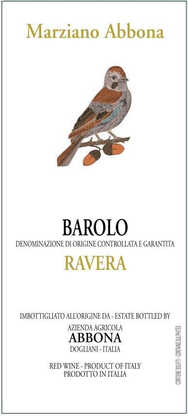 Marziano Abbona Barolo Terlo Ravera 2011