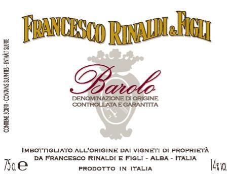 Francesco Rinaldi Barolo 2011
