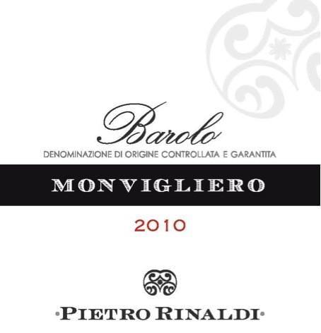 Pietro Rinaldi Barolo Monvigliero 2010