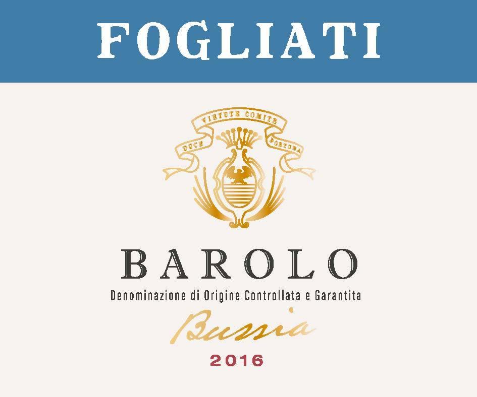 Fogliati Barolo Bussia 2016