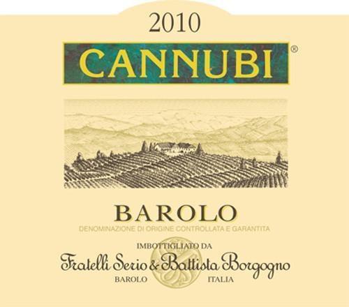 Battista Borgogno Barolo Cannubi 2011