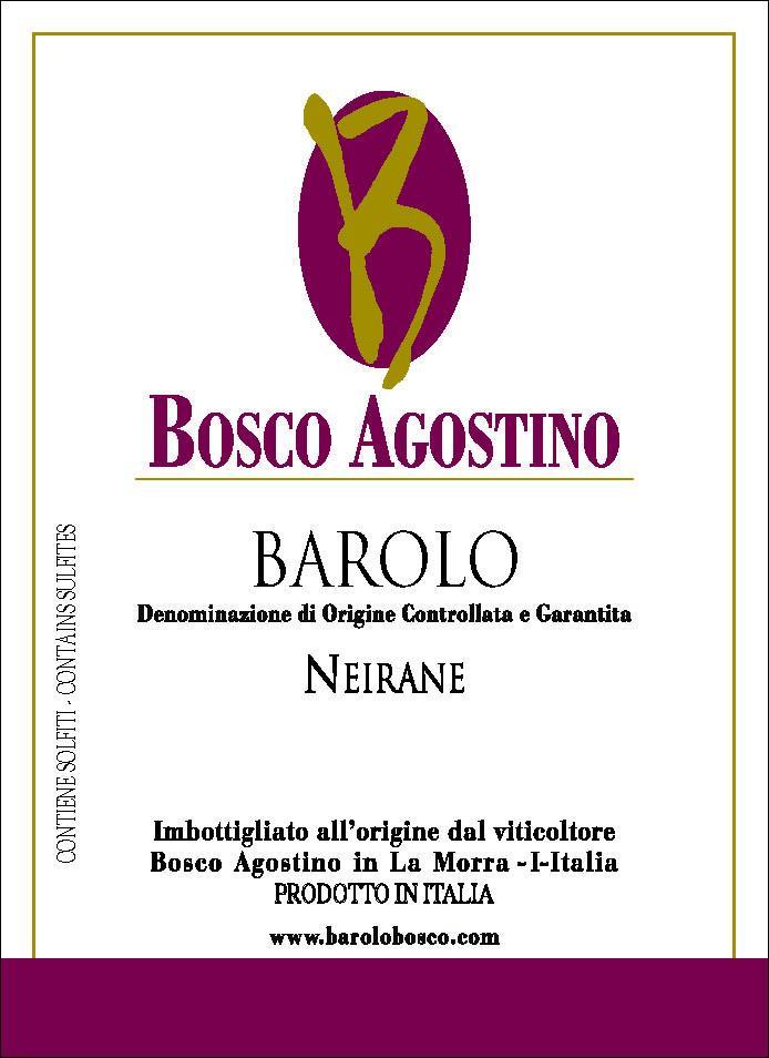 Bosco Agostino Barolo Neirane 2009
