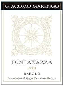 Marengo Barolo Fontanazza 2007