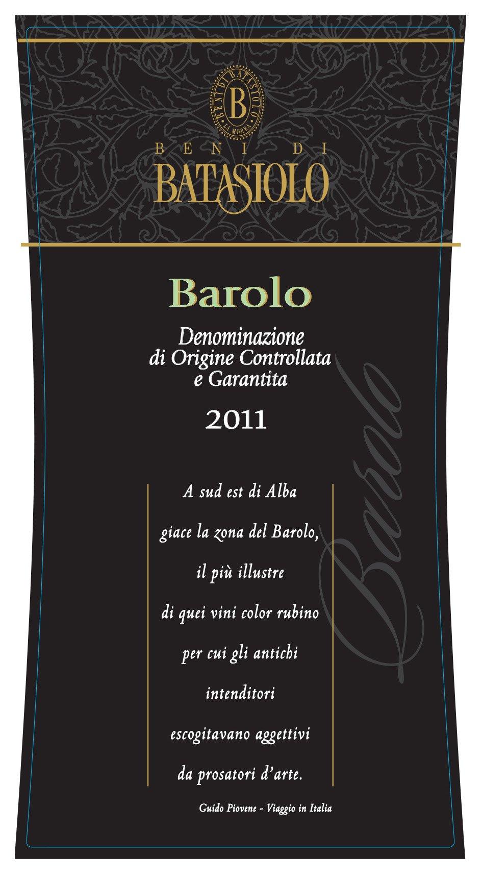 Batasiolo Barolo 2011 - last 4 bottles!