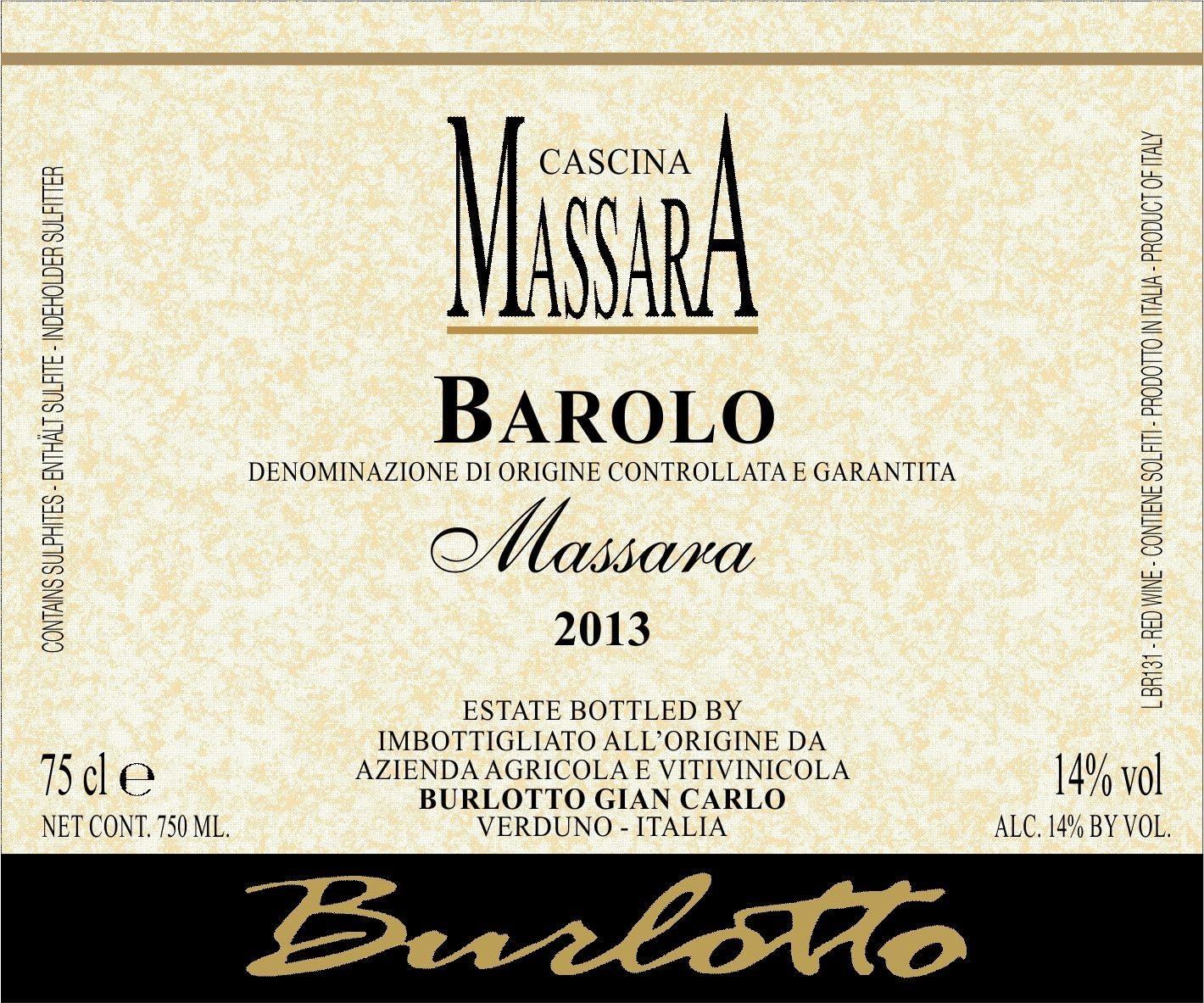 Burlotto Massara Barolo Massara Magnum 2013