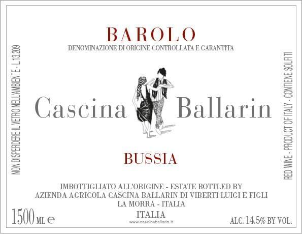 Ballarin Barolo Bussia 2009