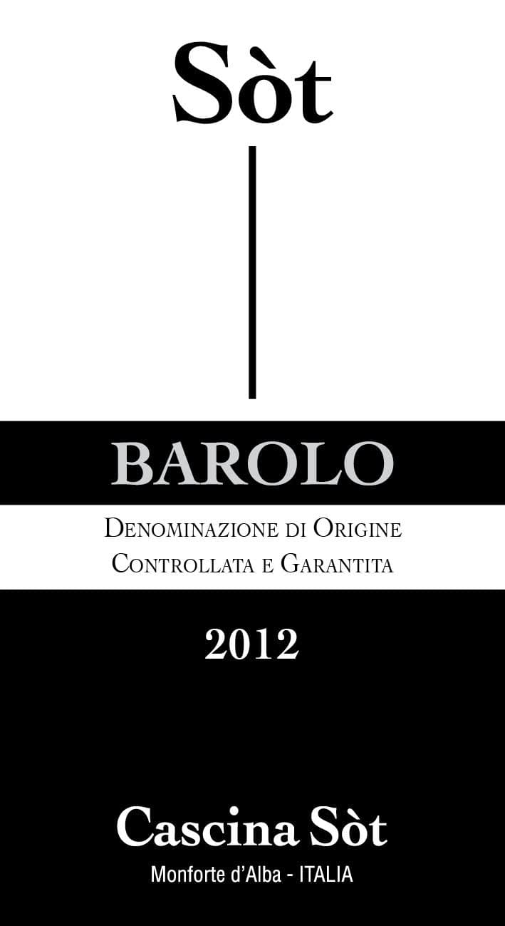 Sòt Barolo Magnum 2012