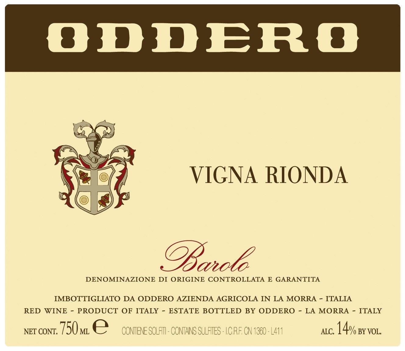 Oddero Barolo Vigna Rionda 2011
