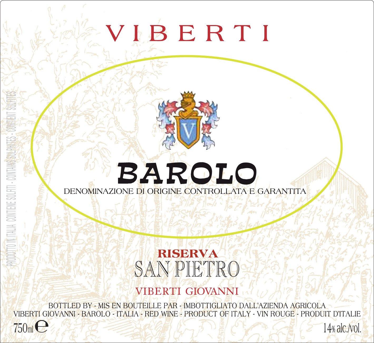Viberti Barolo Riserva San Pietro 2006
