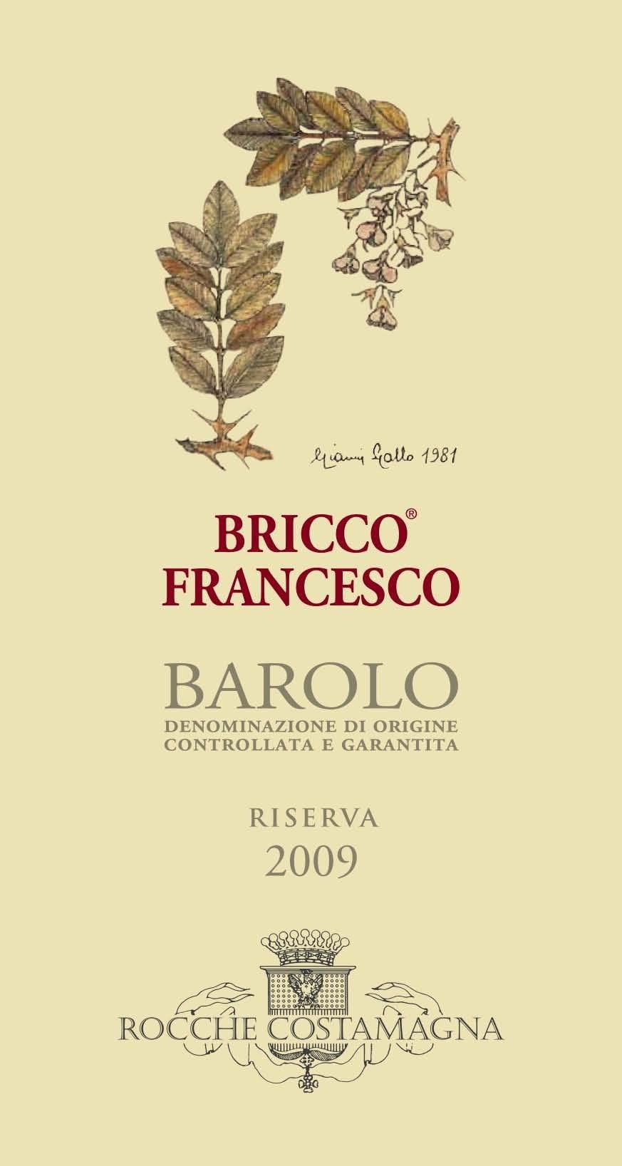 Costamagna Barolo Bricco Francesco Riserva 2012
