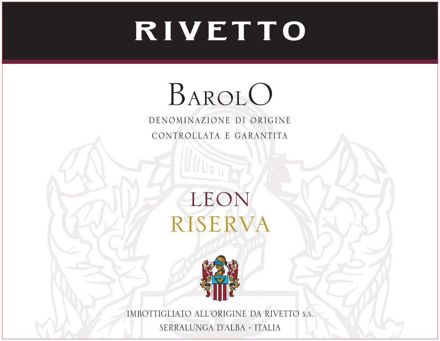 Rivetto Barolo Leon Riserva 2009
