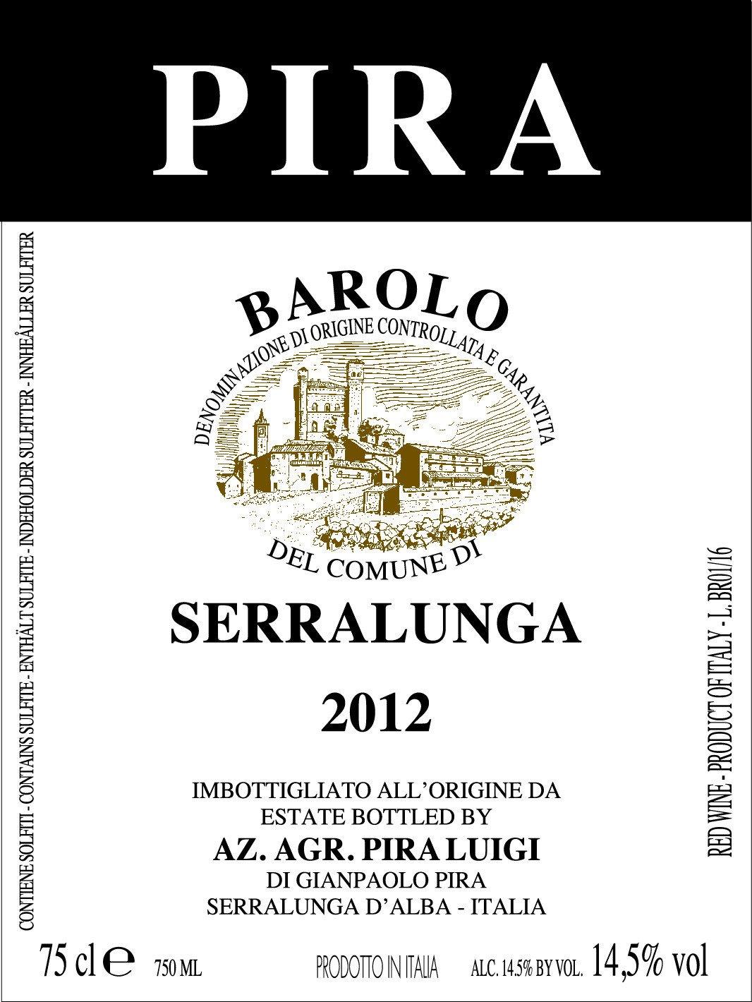 Pira Barolo Serralunga 2012