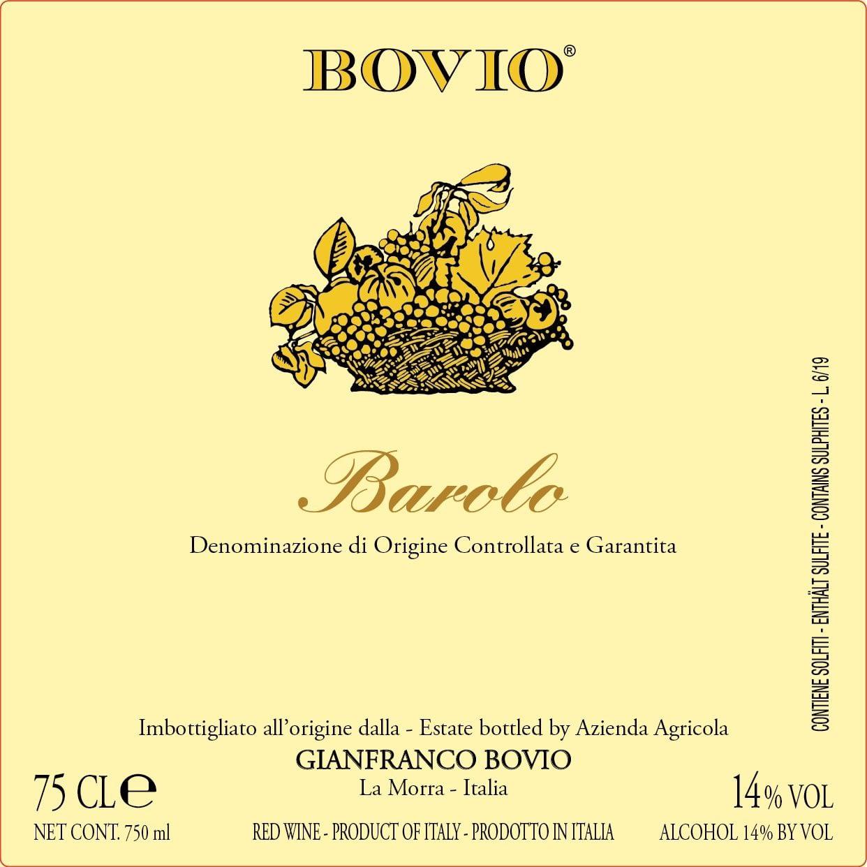Bovio Barolo 2015