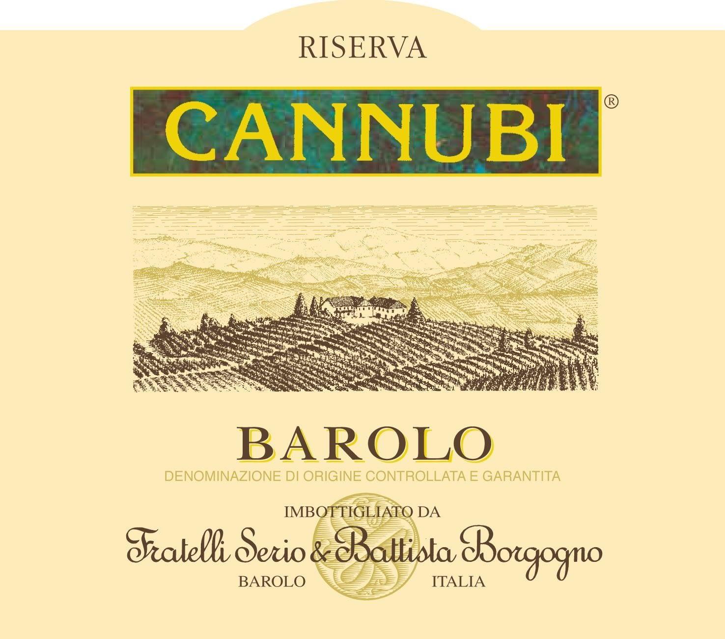 Battista Borgogno Barolo Cannubi Riserva 2009