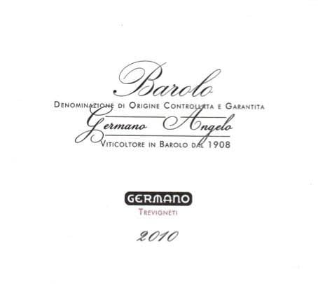 Germano Barolo Trevigneti 2009