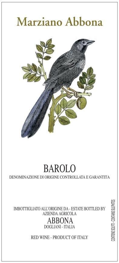 Marziano Abbona Barolo 2012
