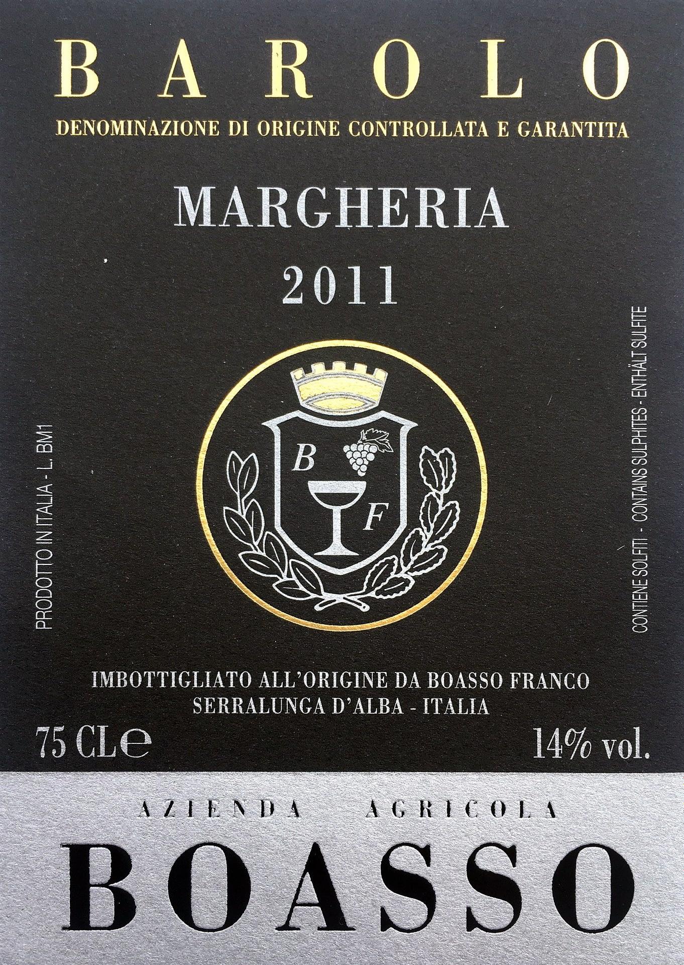 Boasso Barolo Margheria 2012