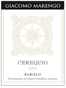 Marengo Barolo Cerequio 2008